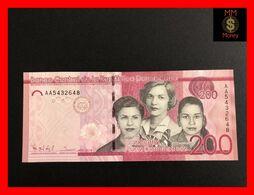 DOMINICANA 200 Pesos Dominicanos 2014  P. 191  UNC - Dominicana