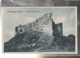 MONTE CALABRO  CASTELLO  Viaggiata-NO-1920-fp-mt.6243 - Cosenza