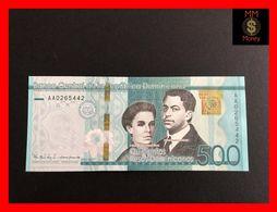 DOMINICANA 500 Pesos Dominicanos 2017  P. 195  *COMMEMORATIVE*   UNC - Dominicana