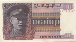 Birmanie / Myanmar : 10 Kyats UNC - Myanmar