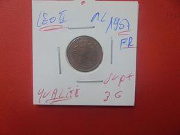 Léopold II. 1 Centime 1907 FR QUALITE SUPERBE+++ (A.2) - 1865-1909: Leopoldo II