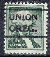 USA Precancel Vorausentwertung Preo, Locals Oregon, Union 490 - Estados Unidos