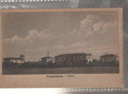 PIZZIGHETTONE VILLETTE Viaggiata-NO-1925-fp-mt.6250 - Cremona