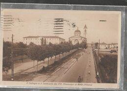 RHO  COLLEGIO E SANTUARIO Viaggiata-SI-1939-fp-mt.6251 - Rho
