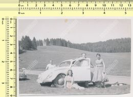 REAL PHOTO ANCIENNE , Old Car VW,  Auto Voitur Automobilia People   Old Photo ORIGINAL - Automobili