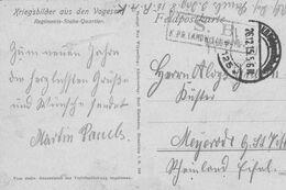 Cachets Militaires S.B.-K.P.R.  Scan - Gebührenstempel, Impoststempel