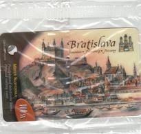 SLOVAKIA - Towns Of Slovakia Bratisla , 100 SK , Tirage 2.000, 08/03, Mint - Slovaquie