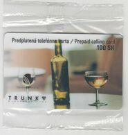 SLOVAKIA - TRUNK Slovak Wine , 100 SK , Tirage 500, 11/02, Mint - Slovaquie