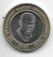 *jamaica 20 Dollars 2000 Km 182   Unc - Jamaica