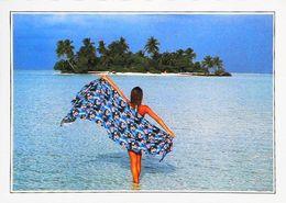 Maldives Ranalhi   Pareo Femme Woman    Années   80s - Maldive