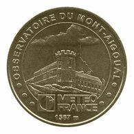 Monnaie De Paris , 2010, Valleraugue , Observatoire Du Mont Aigoual , Meteo France - Monnaie De Paris