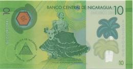 Nicaragua : 10 Cordobas En Plastique UNC - Nicaragua
