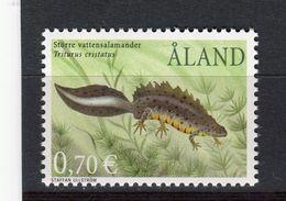 ALAND - Y&T N° 200** - MNH - Faune - Reptile Et Amphibien - Triton Crêté - Aland