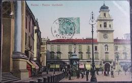 ITALY ITALIA Cartolina 1911 PARMA Piazza Garibaldi - Emilia Romagna - Parma