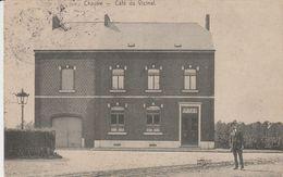 Chastre - Café Du Vicinal ( En Façe De La Gare De Chastre , Perbais , Walhain Saint Paul ) RARE - Chastre