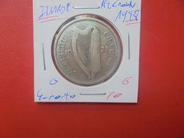 IRLANDE 1/2 CROWN 1928 ARGENT (A.2) - Irlanda
