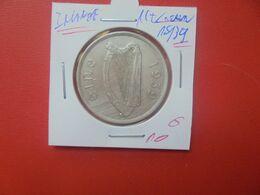 IRLANDE 1/2 CROWN 1939 ARGENT (A.2) - Irland