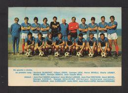 CPM . EQUIPE DE FRANCE Saison 71/72 . Ph; André Lecoq (L'équipe) - Soccer