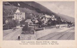 Hotel Lukmanier Disentis 1150 M Schweiz - AI Appenzell Innerrhoden