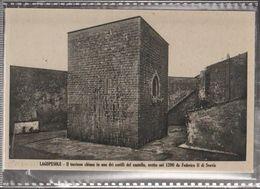 LAGOPESOLE IL TORRIONE CHIUSO  Viaggiata-NO-1920-fp-mt.6268 - Potenza