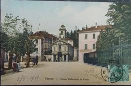 ITALY ITALIA Cartolina 1911 VARESE Chiesa Madonnina In Prato - Lombardia - Varese