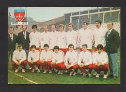 CPM . EQUIPE DU L.O.S.C Saison 70/71 . Ph. F. DELBARRE .(Autographes) 1 - Soccer