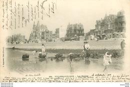 Promotion PHL 2 X Cpa 14 VILLERS-SUR-MER. Les Chalets Et L'Eglise 1902 Petite Coupure 1 Cm Sur La Seconde - Villers Sur Mer