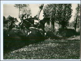 V659/ Velka Pardubicka 1953 Tschechien Pferderennen Hindernisrennen Foto AK  - Pferde