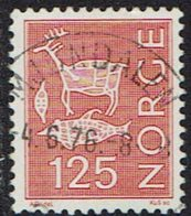 Norwegen 1975, MiNr 697, Gestempelt - Norwegen