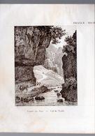 Comté De Nice (06 Amês Maritimes)   Gravure De 1833 : Col De Tende  (PPP23545) - Vieux Papiers