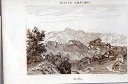 Bouillon (Belgique)   Gravure De 1833 : Vue Générale  (PPP23547) - Vieux Papiers