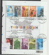 België 2003 - Yv. Blok 3173/82 - OCB Blok 3184/93 (104) Gest./obl./used - Blocks & Kleinbögen 1962-....
