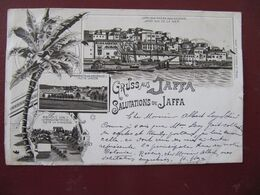 CPA - JAFFA - GRUSS AUS JAFFA - SALUTATIONS DE JAFFA - Palästina