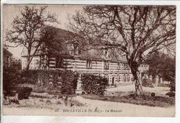 Cpa Rolleville Le Manoir - Altri Comuni