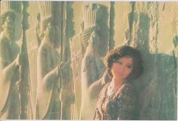 Singapore Airlines SIA Singapore Girl Persepolis 1970s Postcard - 1946-....: Modern Era