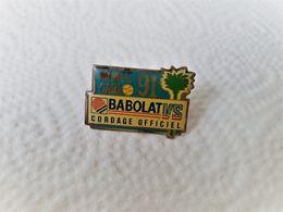 PINS   TENNIS MONTE CARLO 91  BABOLAT CORDAGE OFFICIEL /  33NAT - Tennis