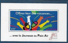 Bloc ** Jeunesse Au Plein Air - Commemorative Labels