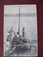 CPA - PIROGUE DES NOUVELLES HEBRIDES - RACHE EDITEUR NOUMEA - Vanuatu