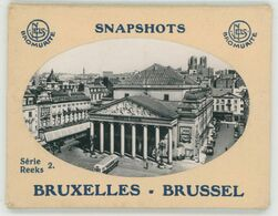 10 SNAPSHOTS BRUXELLES - BRUSSEL, NELS BROMURITE - Lots, Séries, Collections