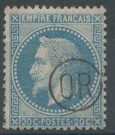 Lot N°57117   N°29B, Oblit OR Dans Un Cercle (ORIGINE RURAL) - 1863-1870 Napoleon III With Laurels