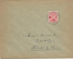 SH 0566. N° 153 PEPINSTER 8.IX.19 S/Lettre Vers Héverlé (LOUVAIN). TB - Brieven En Documenten