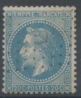 Lot N°57118   Variété/n°29B, Oblit Losange ANCRE, Tache Blanche Dérierre La Tête - 1863-1870 Napoléon III Lauré