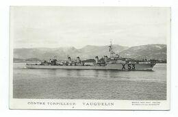 76 CP - MARIUS BAR - CONTRE - TORPILLEUR VAUQUELIN - Guerre