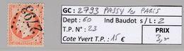 GC 2793 Passy-les-Paris ( Dept 60 ) S / N° 23 - 1849-1876: Periodo Classico