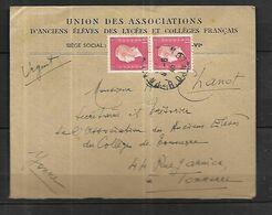 France  Lettre Du 04 06 1945   De Paris Pour  Tonnerre - 1944-45 Maríanne De Dulac