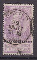 N° 65 Défauts GAND - 1893-1900 Schmaler Bart