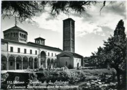 MILANO  Basilica Di S. Sant'ambrogio  La Canonica Bramantesca Dopo La Ricostruzione - Milano (Milan)