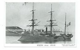 81 CP - MARIUS BAR - AVISO BISSON (1874-92) - Oorlog