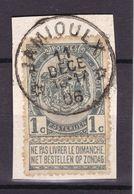 N° 53 / Fragment  DEPOT RELAIS  *  JAMIOULX  * - 1893-1907 Armarios
