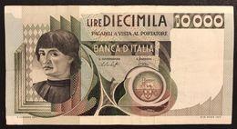 ITALIA 10000 Lire Del Castagno 30 10 1976   LOTTO 2536 - 10000 Lire